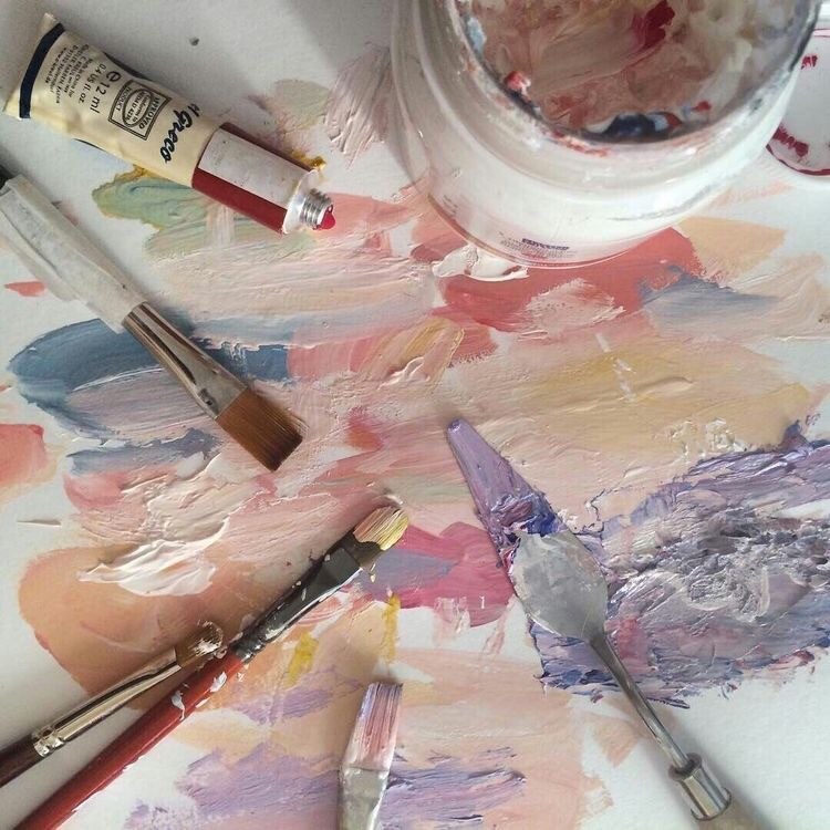 aesthetic, theme, and paint image