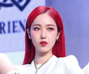 red hair, sinb, and 신비 image