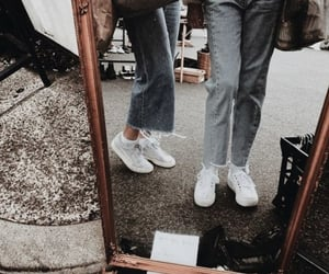 fashion, mirror, and shoes image