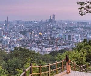 building, city, and Corea image