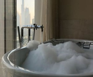 bath, aesthetic, and bathroom image