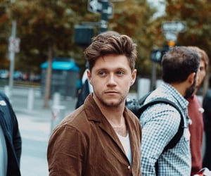 brown, city, and niall horan image