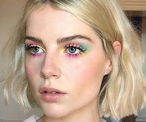 lucy boynton, beauty, and blonde image