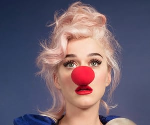 clown, smile, and katy perry image
