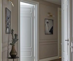 corridor, hallway, and house image