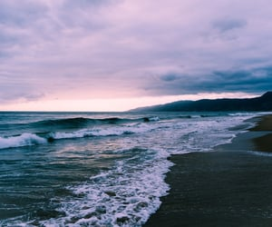 beach, aesthetic, and california image