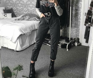 alternative, baggy, and boots image