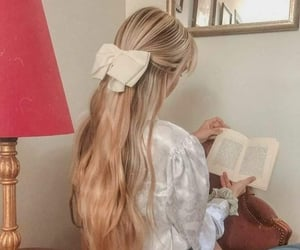 beauty, bibliophile, and book image