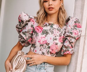fashion, floral, and flowers image
