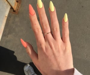 nails, ring, and cute image