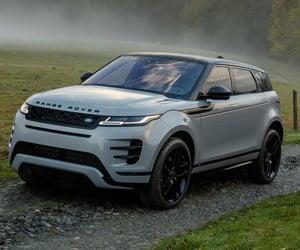 range rover evoque, automatic gearbox, and range rover evoque engine image