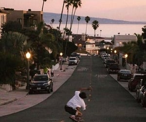 aesthetic, skateboard, and skating image