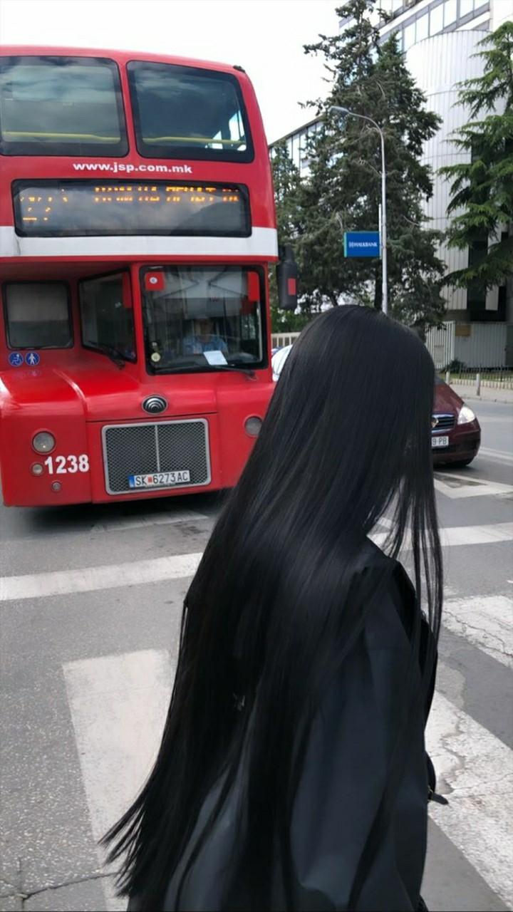 black, elena, and long hair image