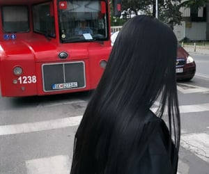 black, elena, and long hair image