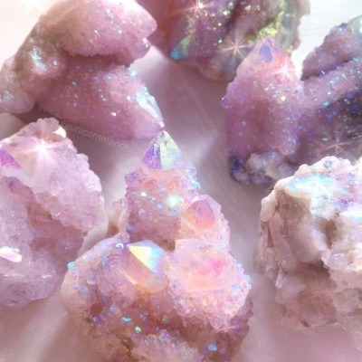 pink, crystals, and girl image