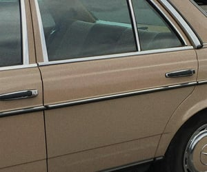 aesthetic, car, and beige image