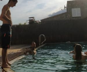 pool, summer, and squad goals image