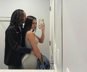 black, couples, and fashion image