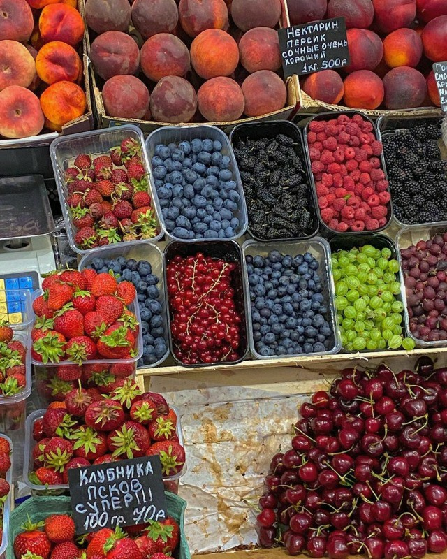 berries, blueberries, and eat image
