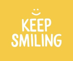 quote, smiling, and text image