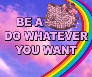 rainbow, quote, and slut image