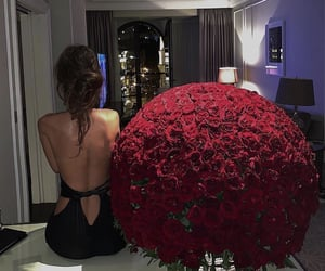 flowers, model, and roses image