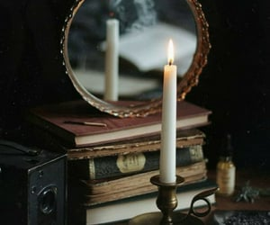 candle and vintage image