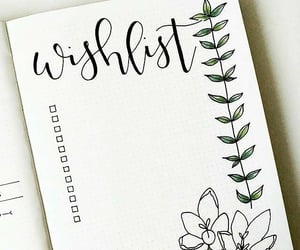 bullet journal, journal, and wish image