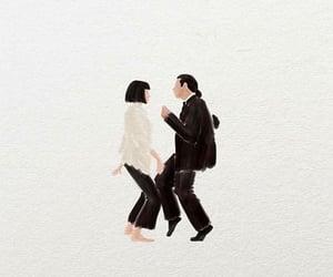 dance, John Travolta, and pulp fiction image