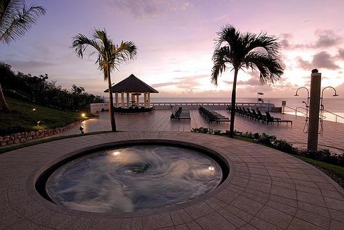 luxury, pool, and summer image