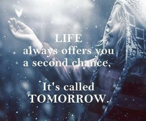 lessons, rise, and tomorrow image