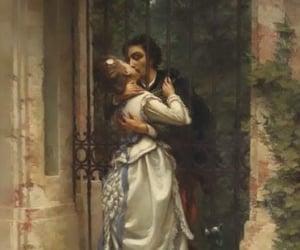 art, man, and couple image