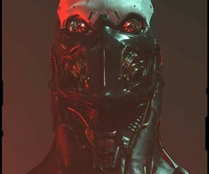 cyberpunk, red, and art image