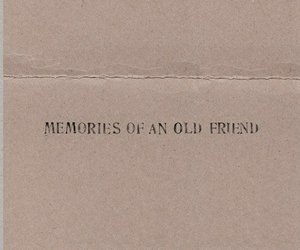 friend, memories, and old image