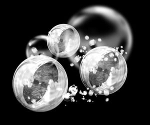 aesthetic, bubble, and editing image