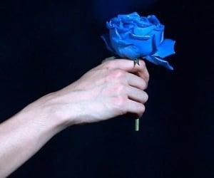 exo, baekhyun, and blue image