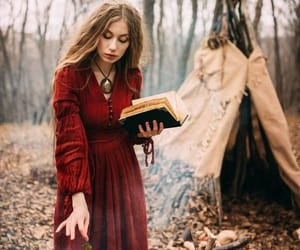 witch, spell, and wicca image