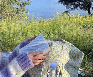 nature, aesthetic, and book image
