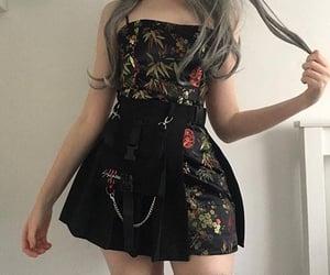 fashion, black, and dress image