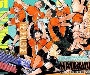 haikyuu, manga, and kageyama tobio image