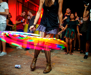 color, colorful, and hula hoop image