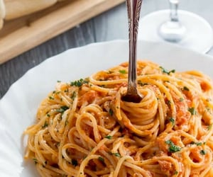 food, yes, and pasta image
