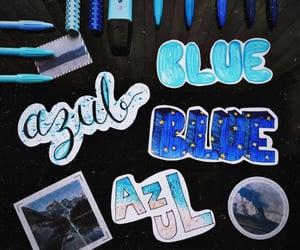 azul, blue, and monami image