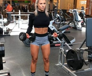 fitness, health, and working out image