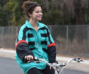 bike, gomez, and selena image