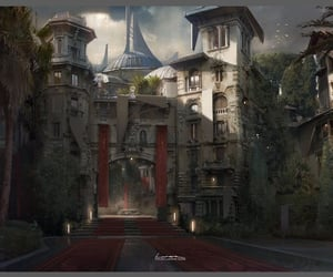 castle, fantasy places, and medieval castles image