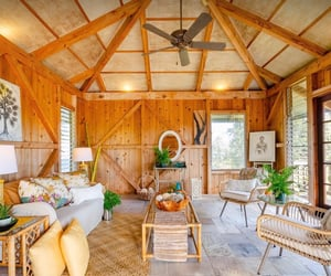 cabin, hawaiian, and home image