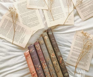 books, shabby chic, and fairytale image