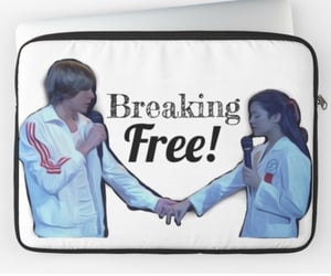disney, HSM, and redbubble image