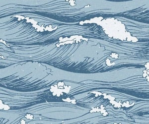 wallpaper, waves, and background image